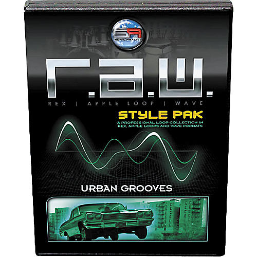 Sonic Reality R.A.W. Style Pack - Urban Grooves Loops Collection Software-thumbnail