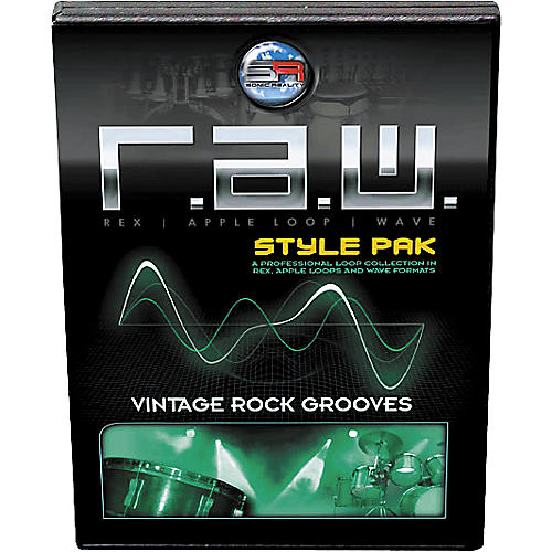 Sonic Reality R.A.W. Style Pack - Vintage Rock Grooves Loops Collection Software