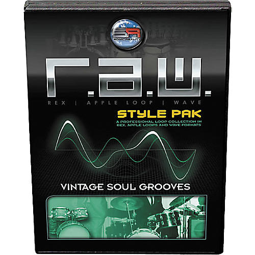 Sonic Reality R.A.W. Style Pack - Vintage Soul Grooves Loops Collection Software