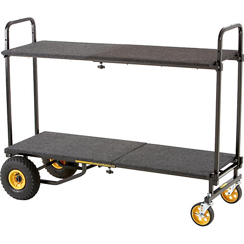 Rock N Roller R10RT 8-in-1 Max Multi-Cart With Deck and Shelf