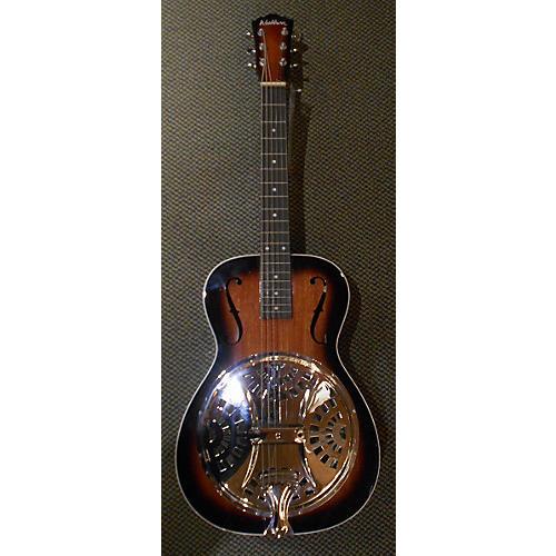 Washburn R15S Resonator Guitar 2 Tone Sunburst