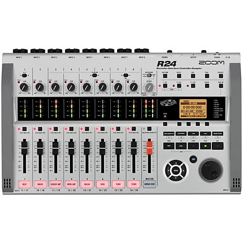 Zoom R24 Multitrack Recorder/Interface/Controller/Sampler-thumbnail