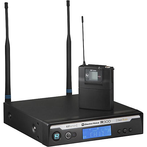 Electro-Voice R300 Lavalier Wireless System in Case-thumbnail