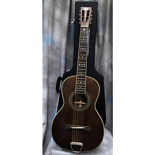 Washburn R314KK Parlor Acoustic Electric Guitar-thumbnail