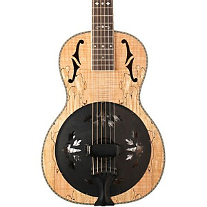 Washburn R360SMK Parlor Resonator Guitar with 1930s Style Inlay