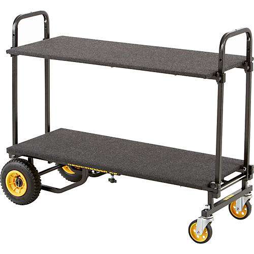 Rock N Roller R6 Mini Cart with Solid Deck and Carpeted Shelf-thumbnail