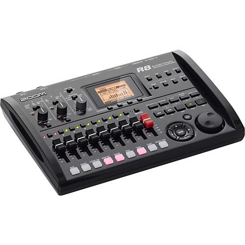 Zoom R8 8-Track SD Recorder, Sampler & USB Interface-thumbnail