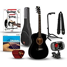 RA-090 Concert Acoustic Guitar Bundle Black