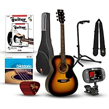 RA-090 Concert Acoustic Guitar Bundle Sunburst