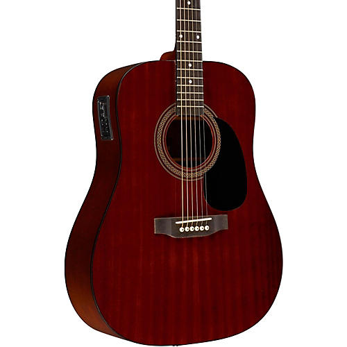 Rogue RA-090 Dreadnought Acoustic-Electric Guitar Regular Mahogany