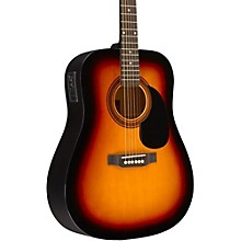 RA-090 Dreadnought Acoustic-Electric Guitar Sunburst