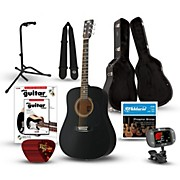 Rogue RA-090 Dreadnought Acoustic Guitar Deluxe Bundle