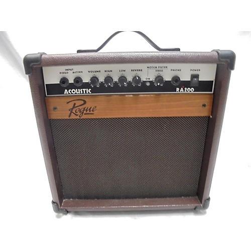 used rogue ra200 acoustic guitar combo amp guitar center. Black Bedroom Furniture Sets. Home Design Ideas