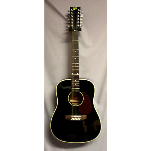 Rogue RADH12 Black 12 String Acoustic Guitar