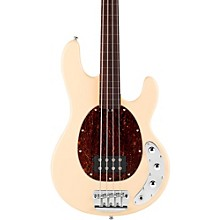 Sterling by Music Man RAY34 Classic Active Series Fretless Electric Bass Guitar