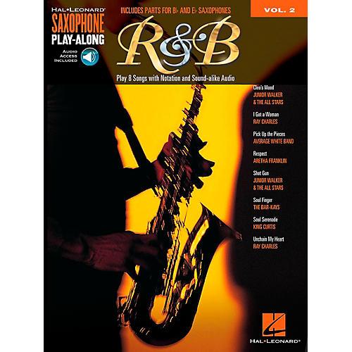 Hal Leonard R&B - Saxophone Play-Along Vol. 2 Book/CD-thumbnail