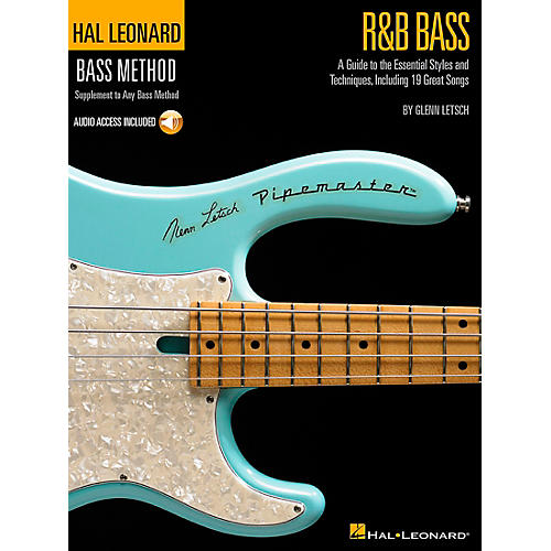 Hal Leonard R&B Bass - Hal Leonard Bass Method Stylistic Supplement Book/CD