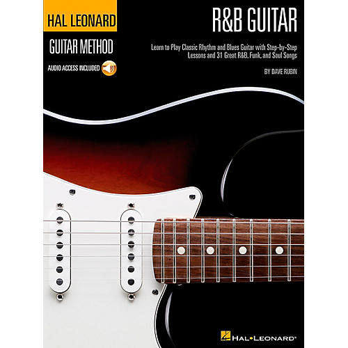 Hal Leonard R&B Guitar Method Book/CD (Stylistic Supplement to the Hal Leonard Guitar Method)