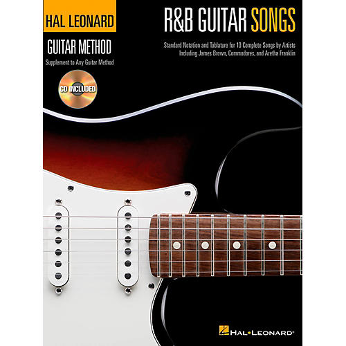 Hal Leonard R&B Guitar Songs - Hal Leonard Guitar Method Book/CD