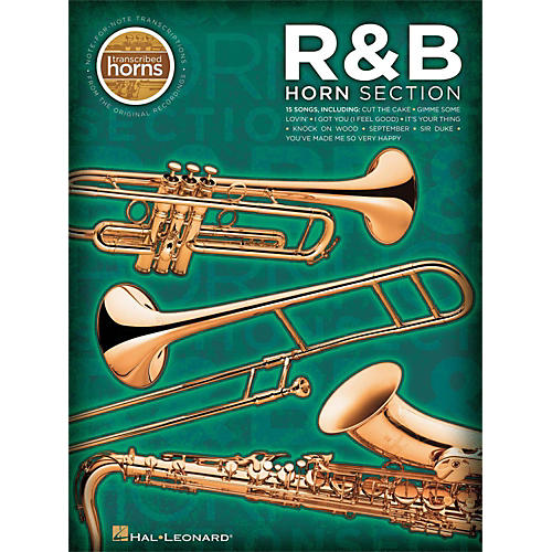 Hal Leonard R&B Horn Section Transcribed Horns-thumbnail