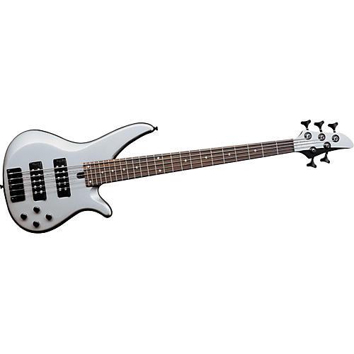 Yamaha RBX375 5-String Bass Guitar Flat Silver