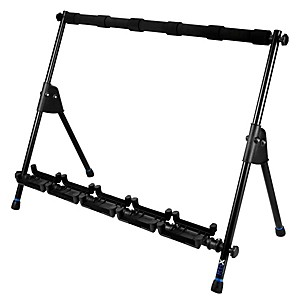 Reunion Blues RBXS Multi-Guitar Stand holds 5 by Reunion Blues