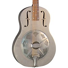 Regal RC-43 Antiqued Nickel-Plated Body Triolian Resonator Guitar