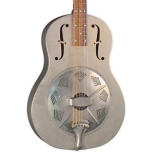 Regal RC-43 Antiqued Nickel-Plated Body Triolian Resonator Guitar by Regal