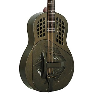 Regal RC-58 Tricone Metal Body Resonator Guitar by Regal