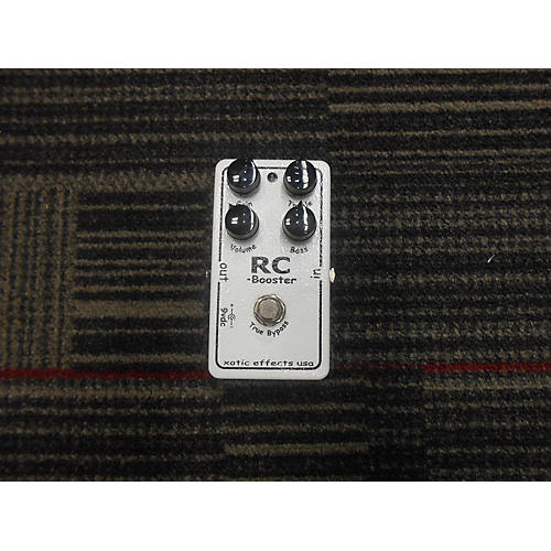 Xotic RC BOOSTER Effect Pedal-thumbnail