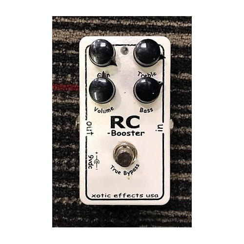 Xotic RC Boost Effect Pedal
