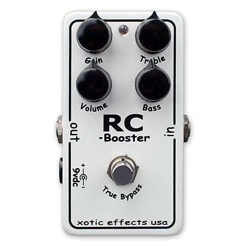 Xotic RC Booster Clean Boost Guitar Effects Pedal-thumbnail