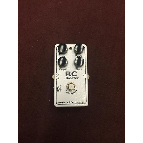 In Store Used RC Booster Effect Pedal