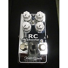 Xotic RC Booster Version 2 Pedal