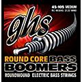 GHS RC-M3045 Round Core Boomers Medium Electric Bass Strings (45-105)-thumbnail