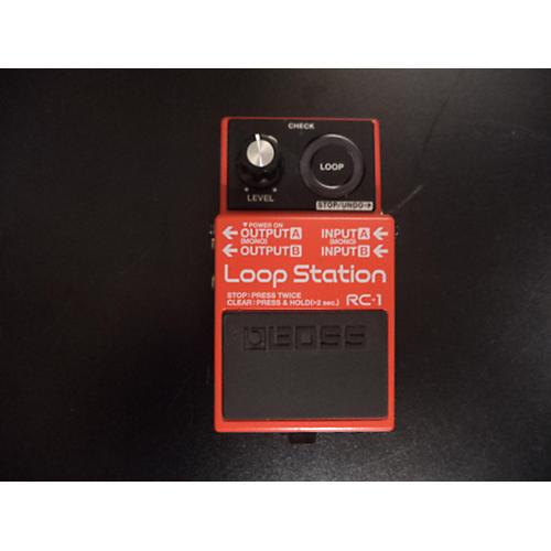 Boss RC1 Loop Station Pedal