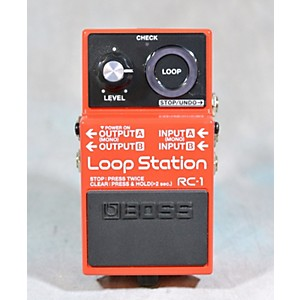 Pre-owned Boss RC1 Loop Station Pedal by Boss