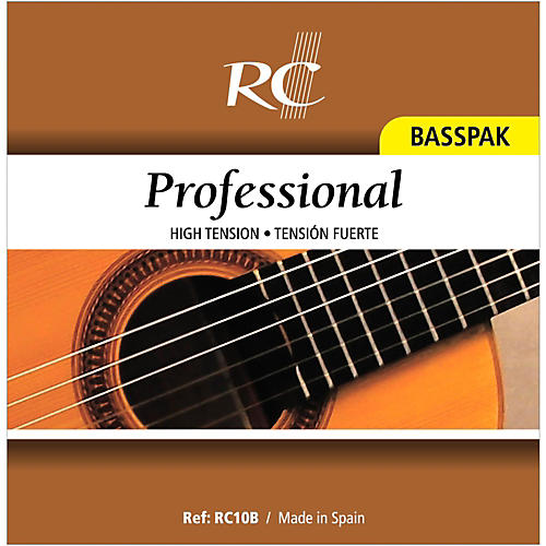 RC Strings RC10B Professional Basspak - High Tension 4th, 5th and 6th Strings for Nylon String Guitar