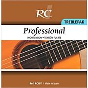 RC Strings RC10T Professional Treblepak - Hard Tension 1st, 2nd and 3rd strings for Nylon String Guitar