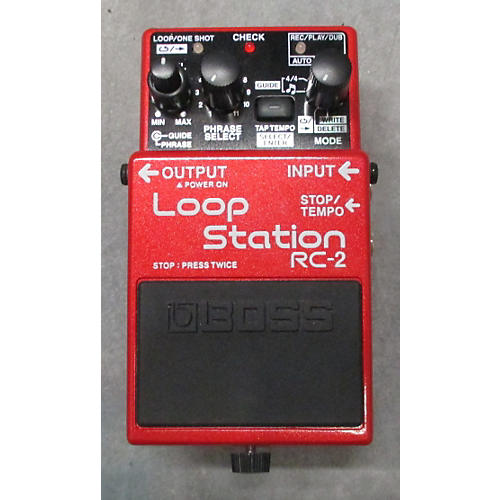 Boss RC2 Loop Station Pedal-thumbnail
