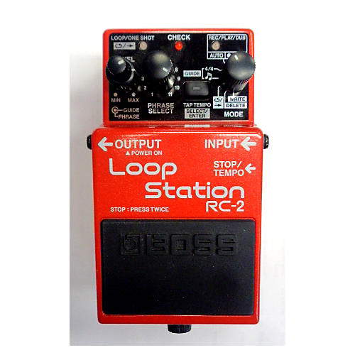 boss loop station rc 2 manual