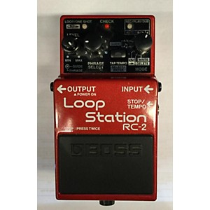 Pre-owned Boss RC2 Loop Station Pedal by Boss