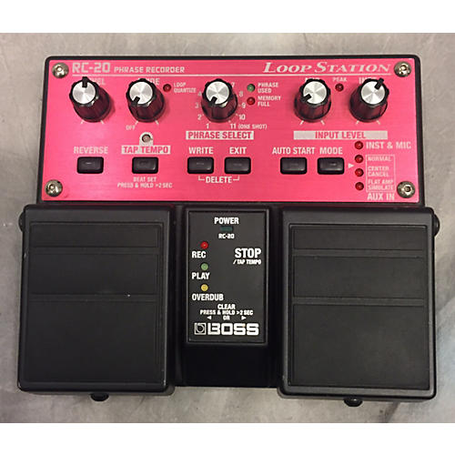 Boss RC20 Loop Station Pedal