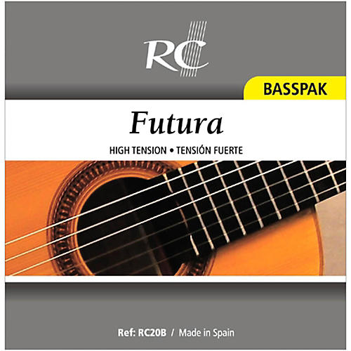 RC Strings RC20B Futura Basspak - Medium High Tension 4th, 5th and 6th Strings for Nylon String Guitar-thumbnail