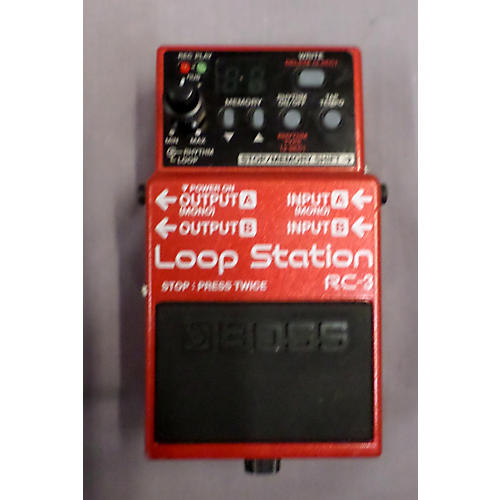 Boss RC3 Loop Station Pedal