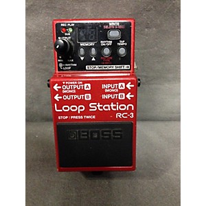 Pre-owned RC3 Loop Station Pedal by Boss