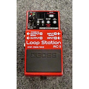 Pre-owned Boss RC3 Loop Station Pedal by Boss