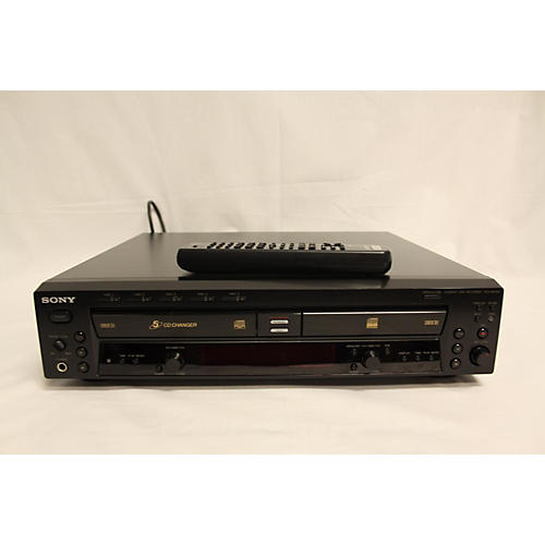 Sony RCD-W500C W/REMOTE MultiTrack Recorder