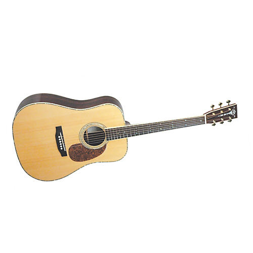 Recording King RD-227 All Solid Wood Dreadnought Acoustic-Electric Guitar-thumbnail