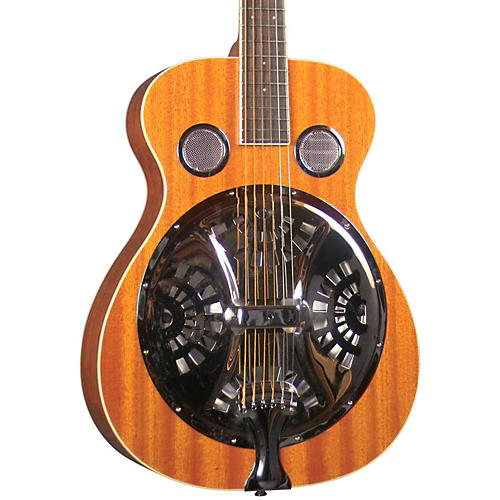 Regal RD-30M Round Neck Resonator Guitar Mahogany top